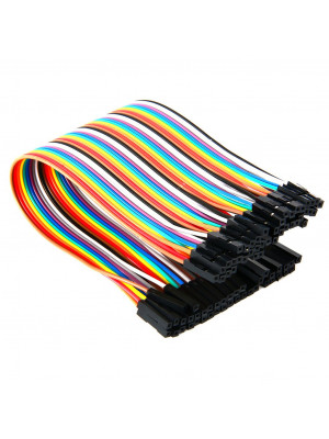 40pcs Female to Female jumper wires kit