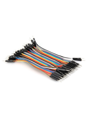 40pcs Male to Male jumper wires kit