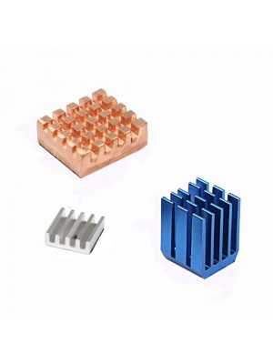 Raspberry PI heatsink-Bronze (set of 3 pcs)