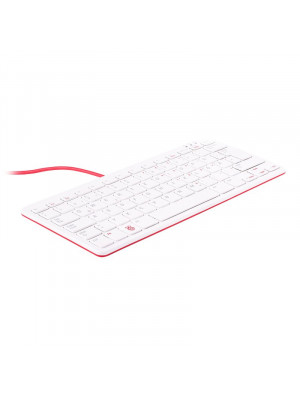 Raspberry Pi Official Keyboard (Red/White)