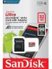 Memory Card microSDHC 32GB Class 10 - SanDisk Ultra SDSQUAR-032G-GN6MA