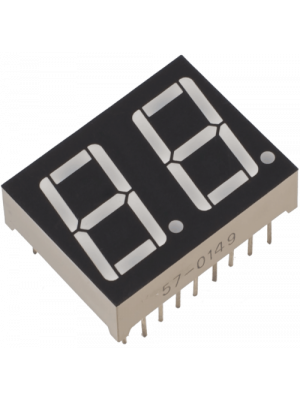 Dual LED segment  display